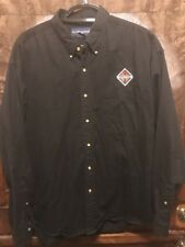INTERNATIONAL TRUCKS ~ Men's 2XL ~ VTG Hong Kong SWINGSTER Button Up L/SLV Shirt