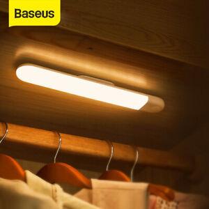 Baseus PIR Motion Sensor LED Night Light USB Powered Stairs Cabinet Closet Lamp