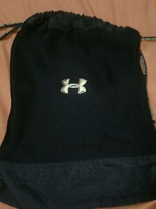 "Under Armour  Sackpack Tote Unisex ""Protect This House"" Navy Blue"