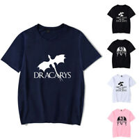 Game of Thrones Dracarys Dragon T-Shirt Spitfire Tops Cotton Tee Crew Neck