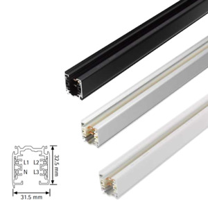 Nordic Aluminium GLOBAL Trac Pro 3-Phasen Stromschiene 1m  | XTS 4100