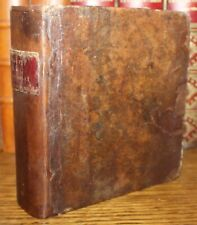 1808 A New Pocket Dictionary Thomas NUGENT French English 2 Parts in One 12th Ed