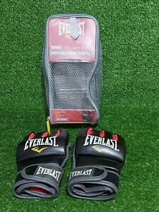 Everlast MMA Grappling Training Gloves Size Sml/Med With Bag In Excellent Cond