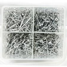 1000 pc Rivet Set Assortment w/ Storage Case Hand Air Riveter Aluminum Blind Pop