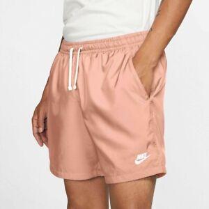 Nike Men's NSW Sportswear Woven Shorts Arctic Orange/White AR2382-800 f