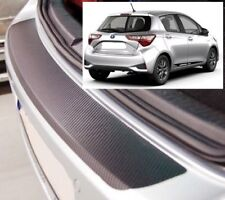 Toyota Yaris MK3 - Carbon Style rear Bumper Protector