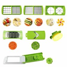 Nicer Dicer Plus Chopper Super Slicer Fruit Vegetable Peeler Grater 12 Pcs Set