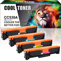 4 Pack Compatible for HP 304A CC530A Toner  LaserJet CP2025 CP2025n CM2320nf MFP