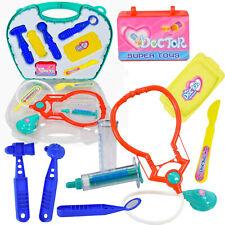13 Pcs Doctor Medical Toy Set Nurse Carry Case Kid Role Pretend Play Kit