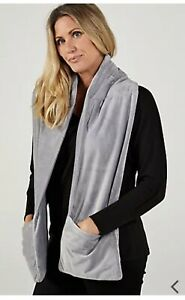 Cozee Home Weighted Reader Wrap Grey