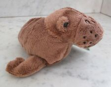 Planet Toys Baby Animals of Planet Earth Plush Walrus Calf - 6.5 Inch - Nwt.
