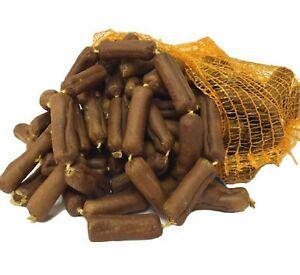 BEEF & GARLIC SAUSAGES antos dogs chews dried meat treats bp pets rewards snacks