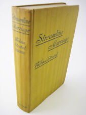 1st/1st Printing STREAMLINE MARRIAGE Thelma Strabel RARE Fiction CLASSIC
