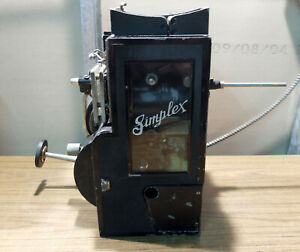 Antique Early 1900s Precision Machine Simplex Movie Projector