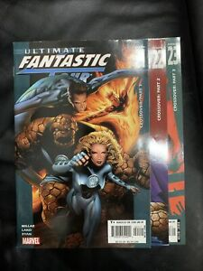 Ultimate Fantastic Four 21 22 23 Set Run Lot 1st Marvel Zombies