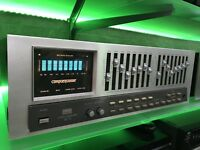 SANSUI SE-9 Stereo Graphic Compu-Equalizer Vintage 1981 Working 100% Like New