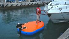 Inflatable Motorized Fishing Platform Paddle Board Surf Board Dingy Raft Boat