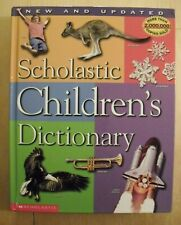 Scholastic Childrens Dictionary by Scholastic Hardcover LIKE NEW