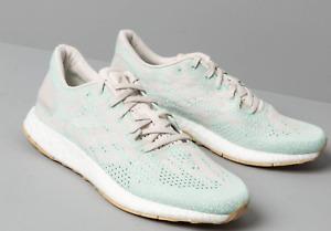 Adidas Pureboost DPR Womens Running Shoes Sz 8 Blue Gray Training