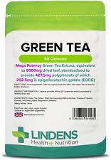Green Tea 9000mg -high strength fat burner, weight loss- (60 capsules) [1585]