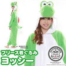 F/s Super Mario Brothers Yoshi Fleece Costume Unisex One Size Japan 0216