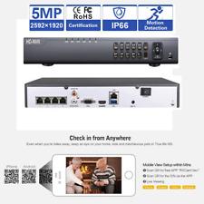 Hd 4Ch H.265 Nvr Sony Cmos Ccd 5Mp PoE 48Ir Ip Ip66 Onvif Security Camera S1