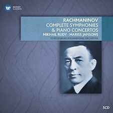Mikhail Rudy - Rachmaninov Piano Concertos and Orchestral works [CD]