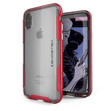 For iPhone X XS Case | Ghostek CLOAK Slim Clear Cover Supports Wireless Charging