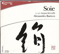 9782070773862 SOIE ('Silk') by Alessandro Baricco French Language CD Audiobook