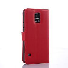 Tarjetero Cartera De Cuero Plegable phonecase Funda Base para Samsung Galaxy