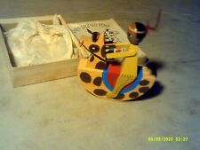 Vintage Toy Chief Spotted Pony Wooden Rocking Toy Japan With Box