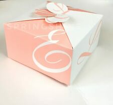"""Pink Bakery boxes Cookie Candy Gift Boxes 6"""" x 6"""" x 3.2""""  pack of 12"""