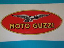 2 MOTO GUZZI STICKERS  KAWASAKI  MOTORBIKE HELMET YAMAHA HONDA IOM TT RACES