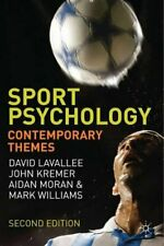 Sport Psychology : Contemporary Themes, Lavallee, David 9780230231740 New,