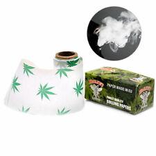 2 x Rolls Cigarette Hornet Hempleaf pattern Rolling Papers 44MM* 5M Practical
