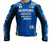 Leather  MotoGp CE Armour Motorbike Motorcycle Racing Leather Jacket