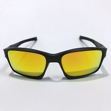 Oakley Sunglasses * Chainlink 9247-03 Matte Black Fire Iridium COD PayPal