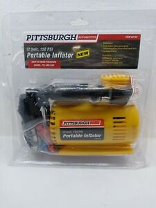 Pittsburgh 12 Volt 150 PSI Portable Inflator Brand New~Damaged package  63152