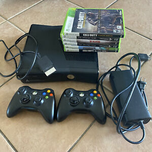 Original Xbox Console System Bundle Complete w/ 6 games and 2 controllers