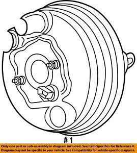 CHRYSLER OEM-Power Brake Booster 68020421AA