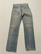 "Vintage Denim Levis Womens REDLINE SELVEDGE Jeans 29"" X 32 VINTAGE A0518"