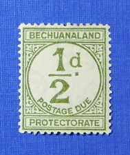 1932 BECHUANALAND PROTECTORATE 1/2d SCOTT# J4 S.G.# D4 UNUSED            CS20490