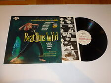 Beat Runs Wild - 1986 UK 10-track label sampler vinyl LP compilation
