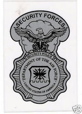 U. S. Air Force Security Forces Shield Sticker - Small