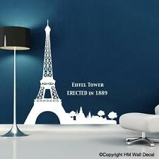 EIFFEL TOWER WALL DECAL Bring famous PARIS landmark to your home-et 2
