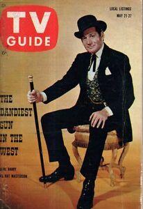1960 TV Guide May 21 - Betsy von Furstenberg; Gene Barry - Untouchables;R Martin