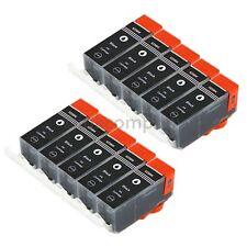 10 PGI 525 DRUCKER PATRONE für CANON IP4850 IP4950 IX6550 MG5150 MG5250 MG5350