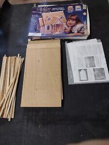 Dura Craft 1992 Ashley Mansions Miniature Wood Dollhouse Kit #AH130 Brand New