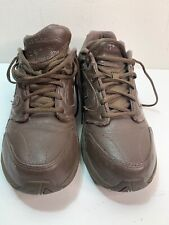 New Balance MW927 Abzorb Lace Up 927 Brown Walking Athletic Sneakers Men's US 9M