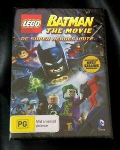 LEGO - The Batman Movie : DC Super Heroes Unite (2013 : 1 Disc DVD)Brand New R4